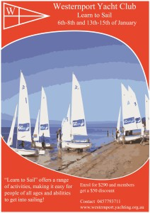 Learn to sail poster